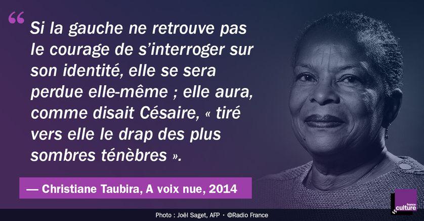 Christiane Taubira dans A voix nue