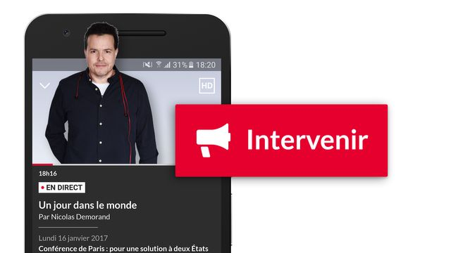 Intervenez en direct depuis l'application