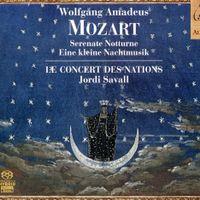 Notturno en Re Maj k 286 : Andante - sérénade pour 4 groupes orchestraux