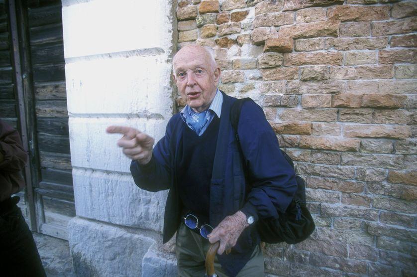 Henri Cartier-Bresson en 1999 à Venise