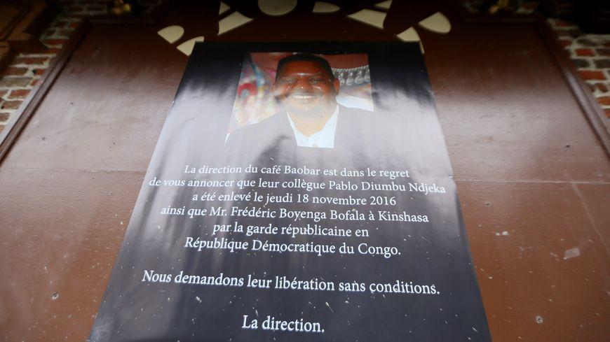 Après deux mois et demi de détention en RDC, Pablo Diumbu Ndjeka, videur à Saint-Leu est libre
