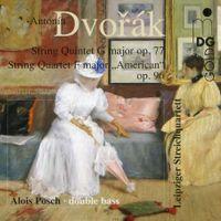 Quatuor à cordes n°12 en Fa Maj op 96 B 179 (Américain) : Lento - Quatuor De Leipzig