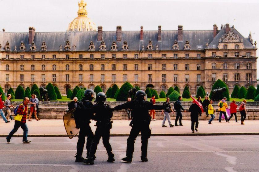 Manifestation parisienne, 2016