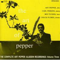 « The Complete Art Pepper Alladin Recordings Vol.3 » Too Close For Comfort