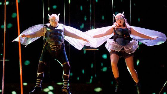 Scène de la mouche dans 'Orphée aux Enfers' de Jacques Offenbach