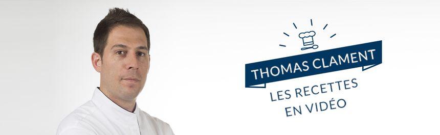 Retrouvez les recettes de Thomas en vidéo