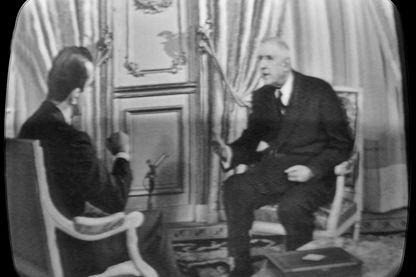 De Gaulle à la télévision en 1965