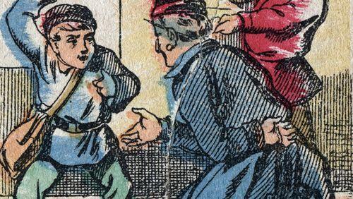 Concordance des temps - Le malaise des gendarmes fin 19ème siècle