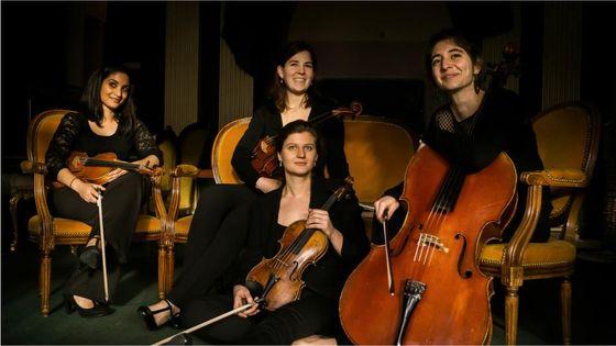 Quatuor Akilone © Pavillon Puebla-Damien Richard