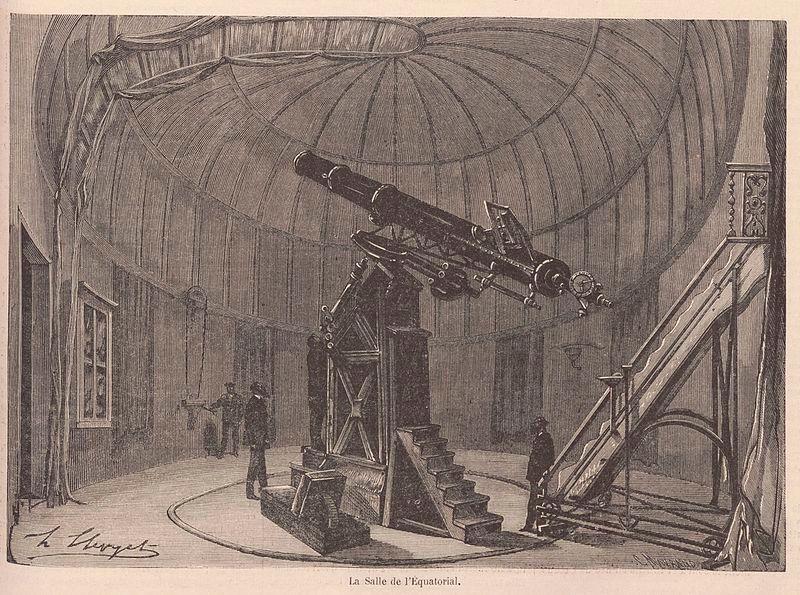 Vue de l'Observatoire de Paris.