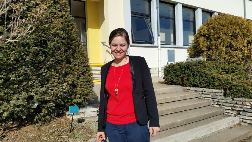 Aurore Beaulieu, enseignante au CFA agricole de Besançon