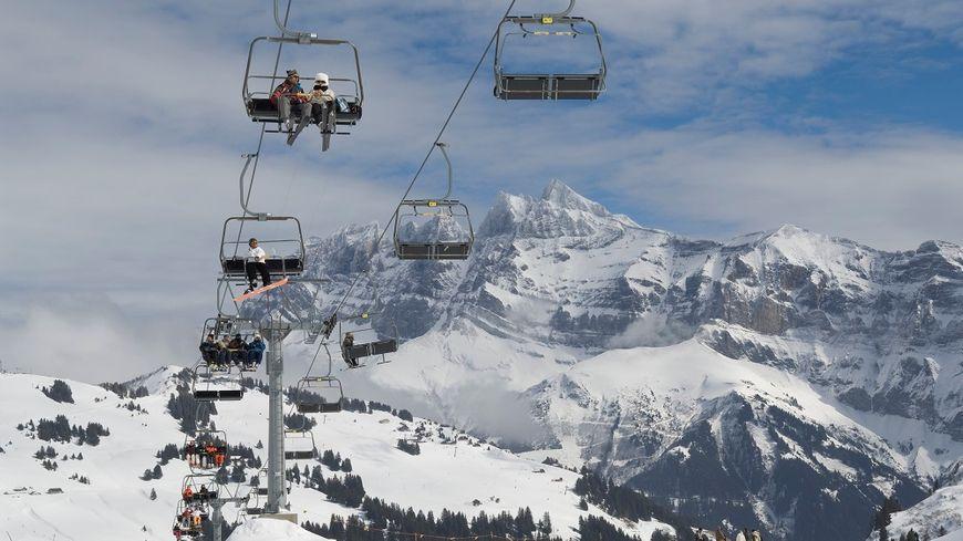 140 skieurs se sont retrouvés bloqués sur un télésiège en panne ce vendredi. Photo d'illustration.