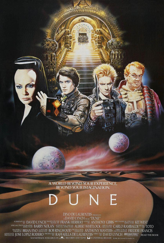 L'affiche de Dune, David Lynch, 1984
