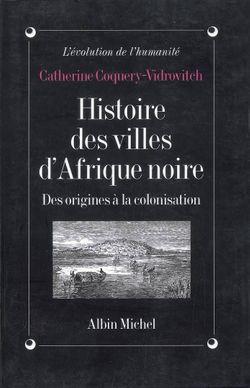 Histoire des villes d'Afrique Noire