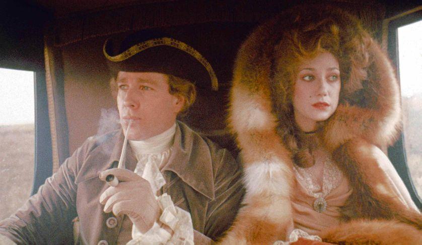 Ryan O'Neal et Marisa Berenson dans le film de  Stanley Kubrick, Barry Lyndon