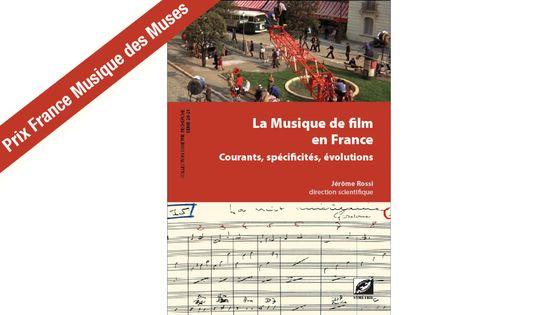 """Couverture du livre """"La musique de film en France"""" par Jérôme Rossi"""