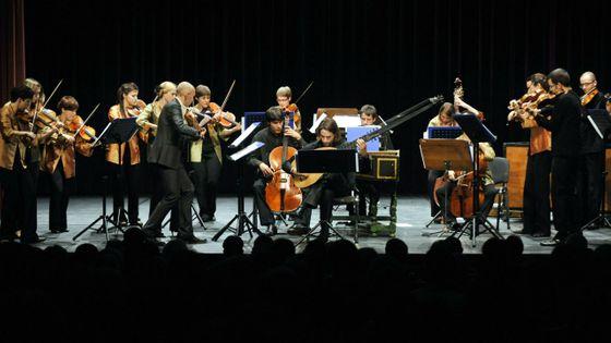 L'Orchestre baroque de l'Union européenne à Budapest