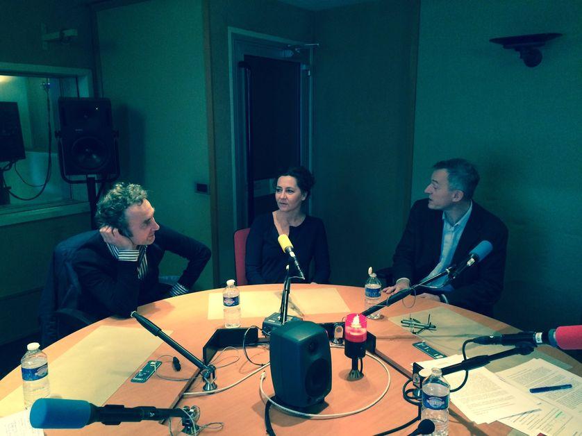 Thierry Hesse, Anne Serre et Etienne de Montety