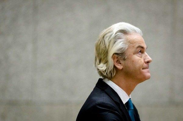 Geert Wilders, fondateur et dirigeant du Parti Pour la Liberté néerlandais (PVV).