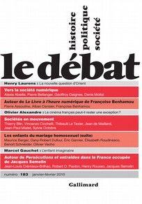 Le Débat, 1/2015 (n° 183)