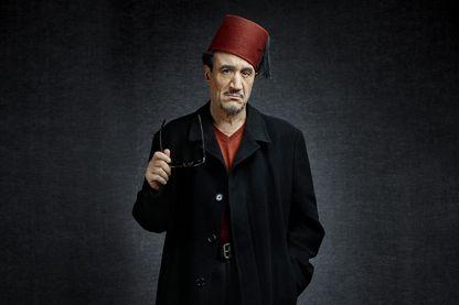 """Fellag, à l'affiche de son nouveau spectacle, """"Bled Runner"""", actuellement au Théâtre du Rond-Point"""