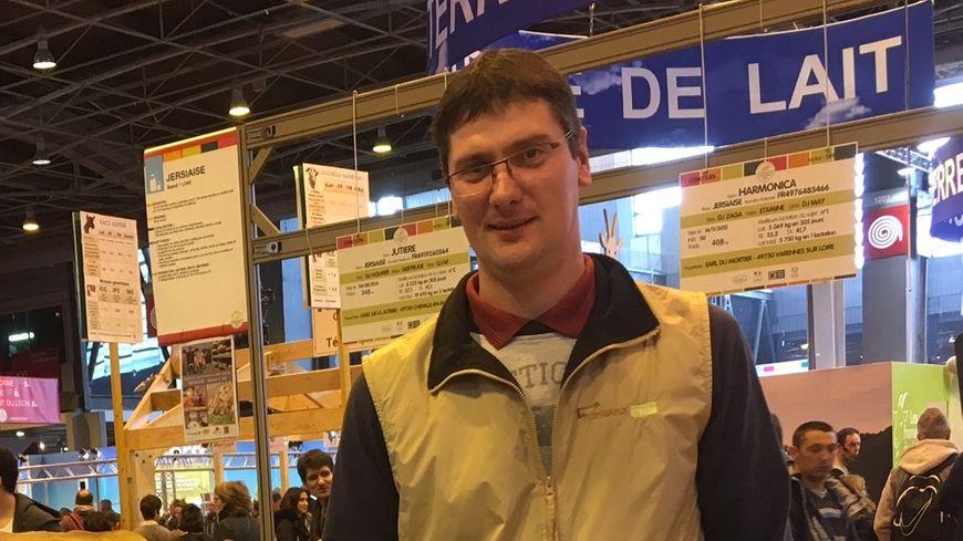 Benoît Guioullier, l'éleveur d'Imitable