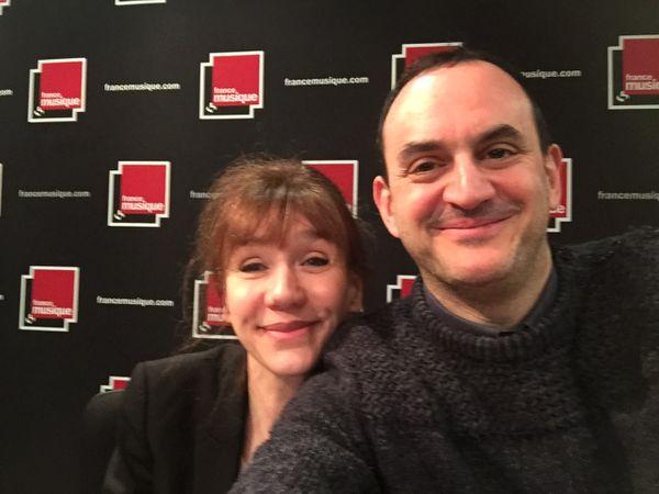 Virginie Lemoine avec Laurent Valière