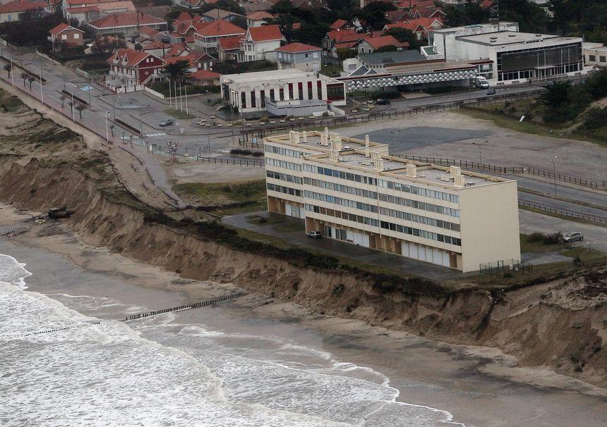 L'immeuble Le Signal de Soulac-sur-Mer, particulièrement concerné par la proposition de loi que portait Pascale Got.