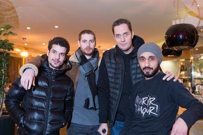 Soufiane Guerrab, Pablo Pauly, Grand Corprs Malade et Mehdi Idir - 9 janvier 2017