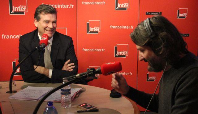 Arnaud Montebourg et Frédéric Beigbeder