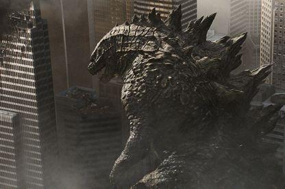 "Image extraite de ""Godzilla"" de Gareth Edwards (II). Sorti en 2014, le film sera rediffusé sur TFA dimanche soir  prochain"