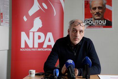 candidat présidentiel au parti de gauche du Parti néo-anticapitaliste (NPA)