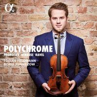 Prokofiev Strauss et Ravel : Sonates pour violon et piano ALPHA