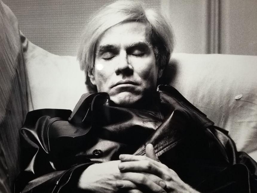 Andy Warhol, l'une des grandes figures du Pop Art revient régulièrement dans cette exposition