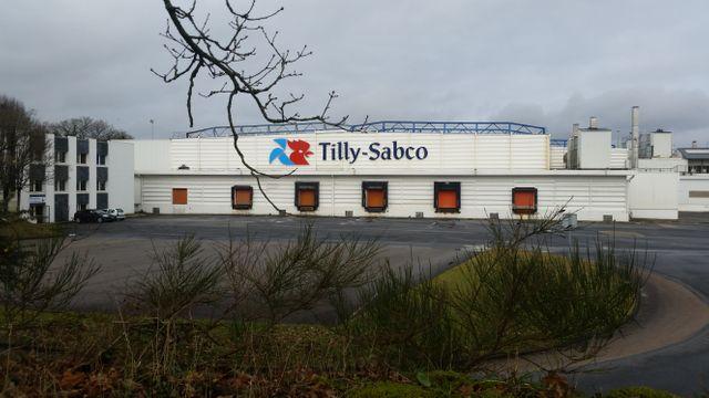 L'usine Tilly-Sabco de Guerlessquen  (Finistère)