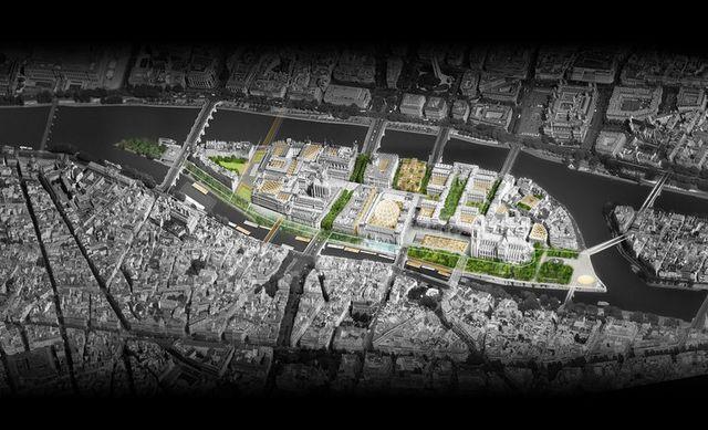 Le projet de Dominique Perrault et Philippe Bélaval pour réaménager l'île de la Cité