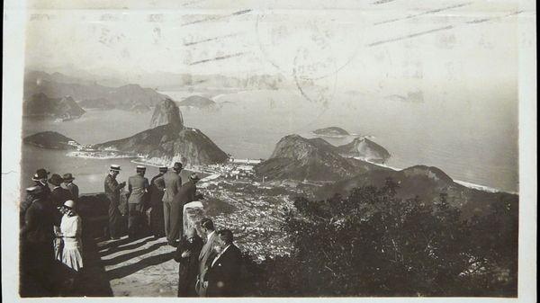 Carte postale de Rio de Janeiro en 1931