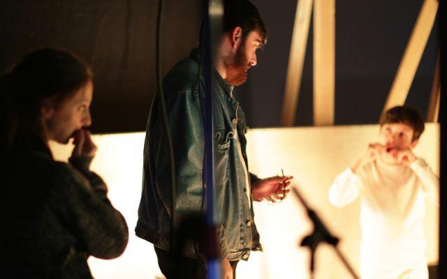 """Alexandre Perez sur le tournage de """"Sergent James"""""""