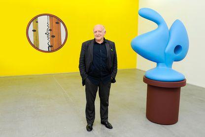 L'artiste Bertrand Lavier
