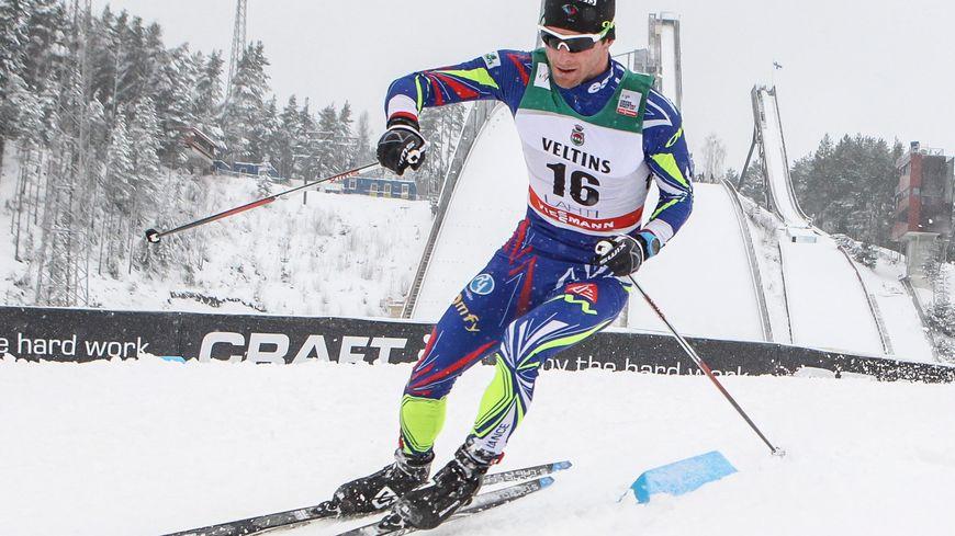 Jean-Marc Gaillard à la Skiing World Cup en Finlande en 2016