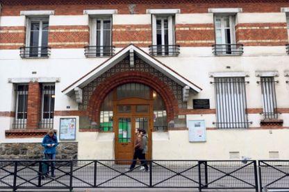 Le collège Berlioz, dans le XVIIIème arrondissement