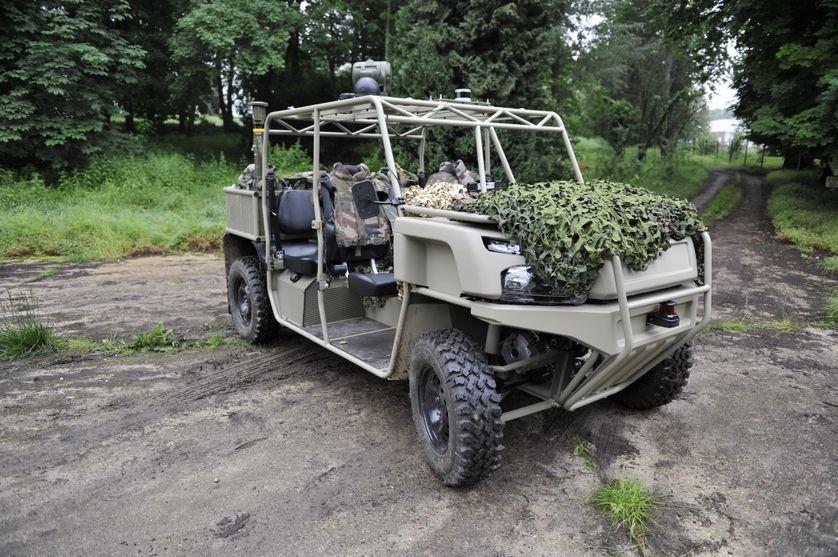 Robot e-Rider, véhicule autonome militaire