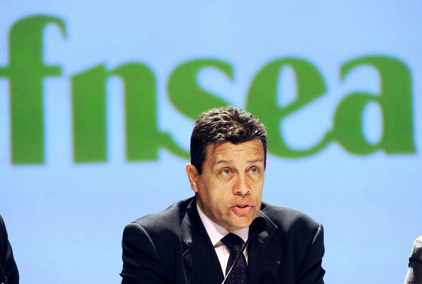 Xavier Beulin, ancien président de la FNSEA, le 28 mars 2012.