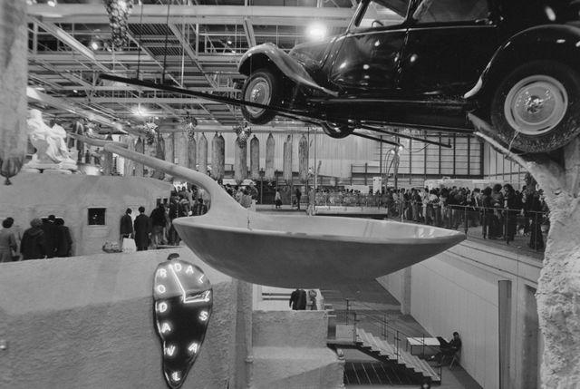 L'exposition Dali en 1979