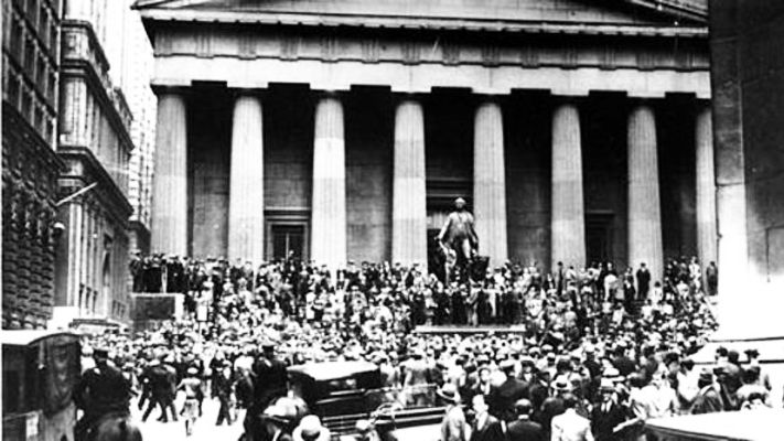 Wall Street, Krach boursier de 1929