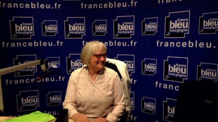 Le Dr Véronique Alavoine, chef du service de soins palliatifs à la Mirandière à Quetigny