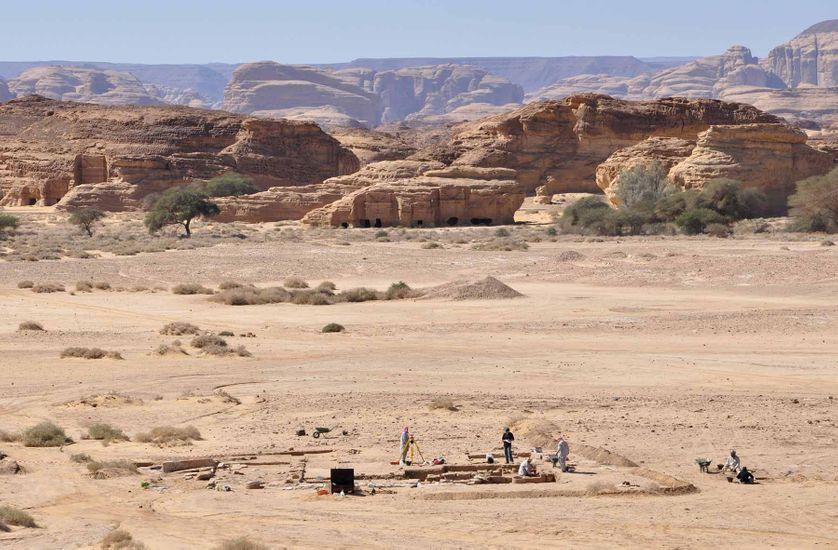 Madain Salih excavations