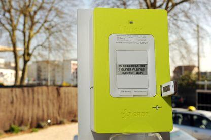"""Le compteur électronique """"communicant"""" Linky, appelé à remplacer les 35 millions de compteurs électriques équipant les foyers français."""