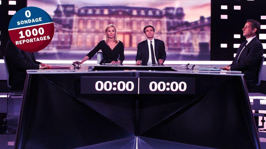 Le débat présidentiel du second tour de l'élection présidentielle 2012, entre N. Sarkozy et F. Hollande.