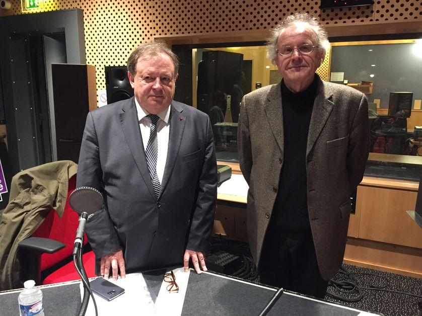 Jean-Pierre Mignard et Philippe Portier
